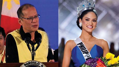 Hoa hậu Hoàn vũ khẳng định không hẹn hò Tổng thống Philippines.