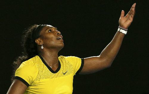 Serena lỡ cơ hội san bằng kỷ lục của Steffi Graf. Ảnh: Reuters.