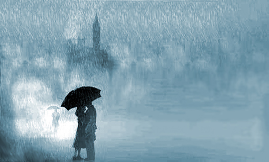 mơ thấy mưa giông