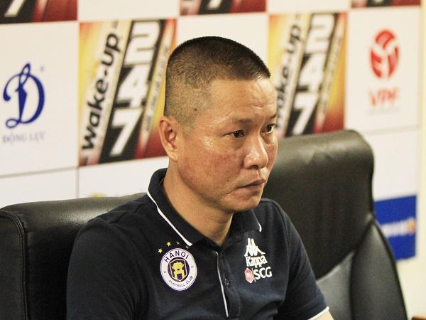 HLV trưởng Hà Nội FC nói gì trước trận đấu với Sài Gòn FC?