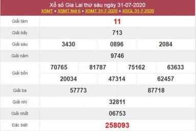 Dự đoán XSGL 7/8/2020 chốt lô Gia Lai cực chuẩn