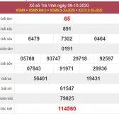 Dự đoán XSTV 16/10/2020 chốt KQXS Trà Vinh thứ 6