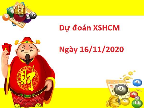 Dự đoán XSHCM 16/11/2020 hôm nay - Dự đoán xổ số Hồ Chí Minh hôm nay thứ 2 ngày 16/11/2020 được các chuyên gia nghiên cứu phân tích và đánh giá dự báo