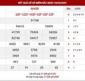 Dự đoán XSMB ngày 25/3/2021 - Dự đoán KQ XS miền Bắc thứ 5